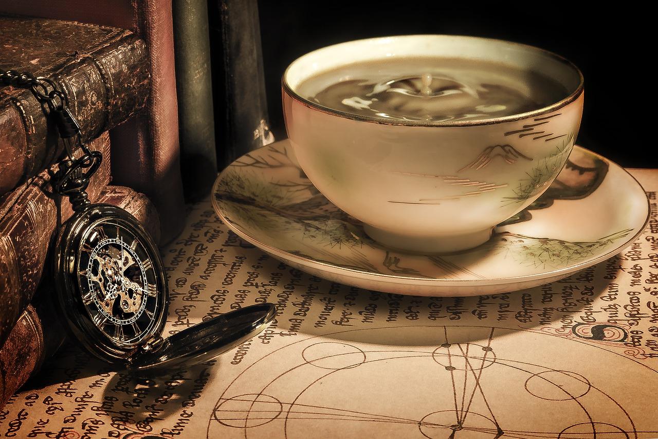 coffee, tea time, cup
